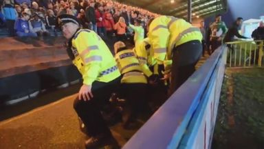 Rochdale apologise for crowd trouble
