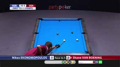 Europe win Mosconi Cup