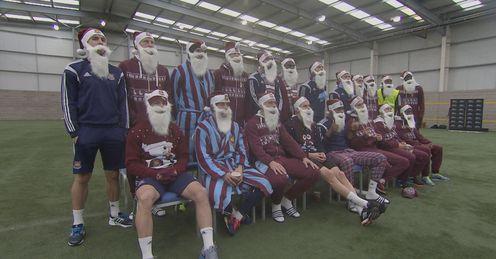 A footballer's Christmas