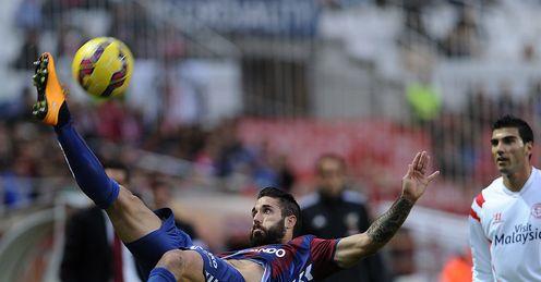 Eibar hold Sevilla to draw