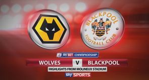 Wolves 2-0 Blackpool