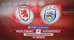Middlesbrough 2-0 Huddersfield