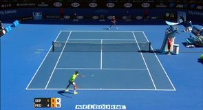Federer knocked out by Seppi