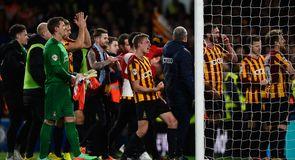 Bradford shock Chelsea in cup