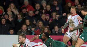 Cave's hat-trick for Ulster