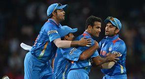 Tri Series - England v India