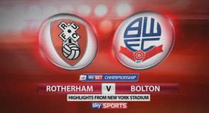 Rotherham 4-2 Bolton