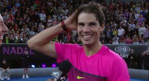 Nadal enjoys night in Melbourne