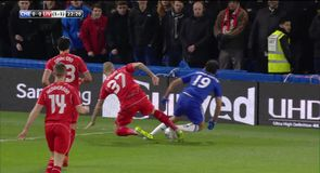 Were Chelsea denied a clear penalty?