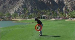 Shot Centre: Mickelson swing