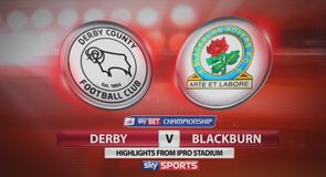 Derby 2-0 Blackburn