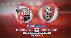 Brentford 1-0 Rotherham
