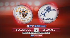 Blackpool 1-0 Millwall