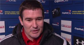 Clough hopes to 'stay in the tie'