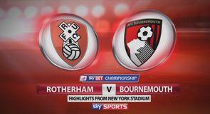 Rotherham 0-2 Bournemouth