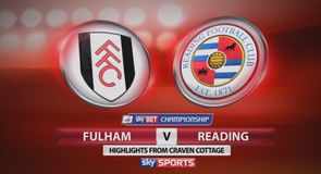 Fulham 2-1 Reading