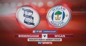 Birmingham 3-1 Wigan