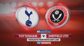 Tottenham 1-0 Sheff Utd - Highlights