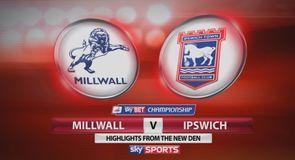 Millwall 1-3 Ipswich
