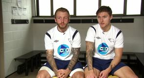 Teammates - Johnny Russell and Jeff Hendrick