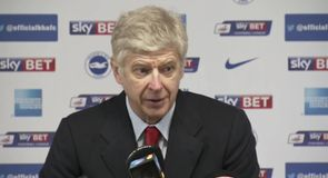 Wenger: We're not favourites