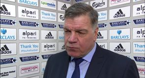 Allardyce praises clinical Hammers