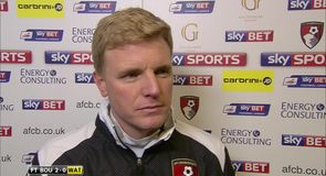 Howe: Big win for Bournemouth