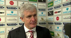 Stoke win satisfies Hughes