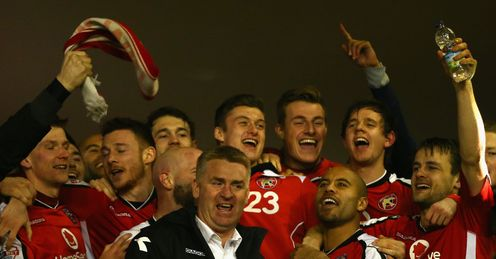 Smith proud of Walsall