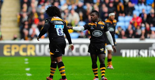 Wasps No 8 Johnson cited