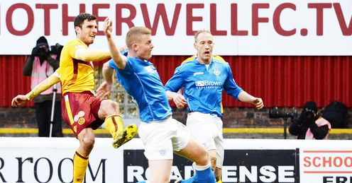 Sutton earns Motherwell draw