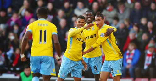 Palace edge Saints in thriller