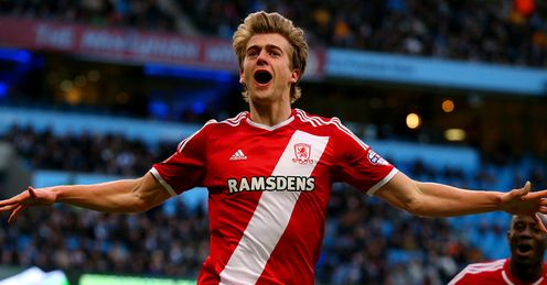 Middlesbrough upset Man City
