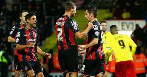 Bournemouth ease past Watford