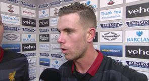 Henderson: We were outstanding