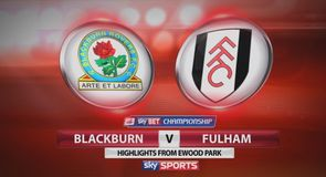 Blackburn 2-1 Fulham