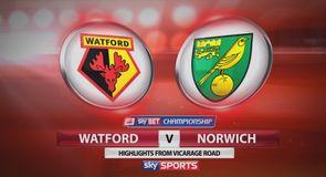 Watford 0-3 Norwich