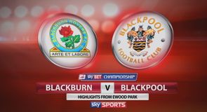 Blackburn 1-1 Blackpool