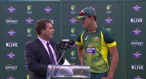 Starc named player of the series