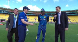 England win toss and bat