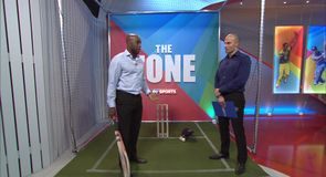 Carberry examines Sangakkara's technique