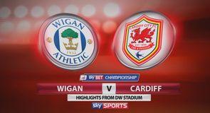 Wigan 0-1 Cardiff