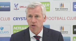 Pardew: Worst performance at Palace