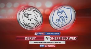 Derby 3-2 Sheffield Wednesday