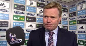 Koeman frustrated with loss