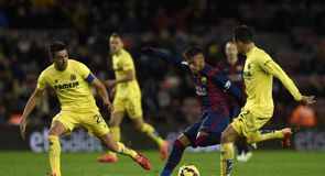 Barcelona v Villarreal Highlights