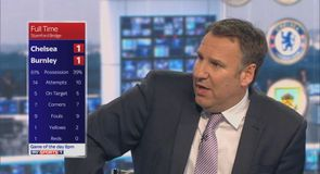 Merson refuses to credit Burnley
