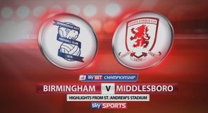 Birmingham 1-1 Middlesbrough