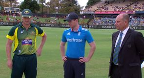 Australia v England - The Toss