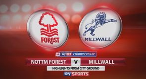 Nott'm Forest 0-1 Millwall